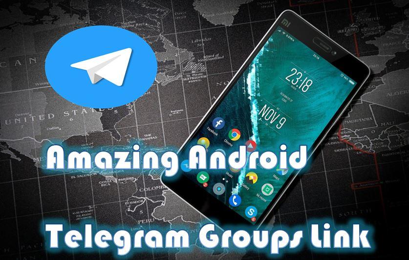 Android Telegram Groups Links